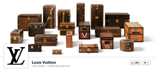 Louis Vuitton's Facebook Cover Photo